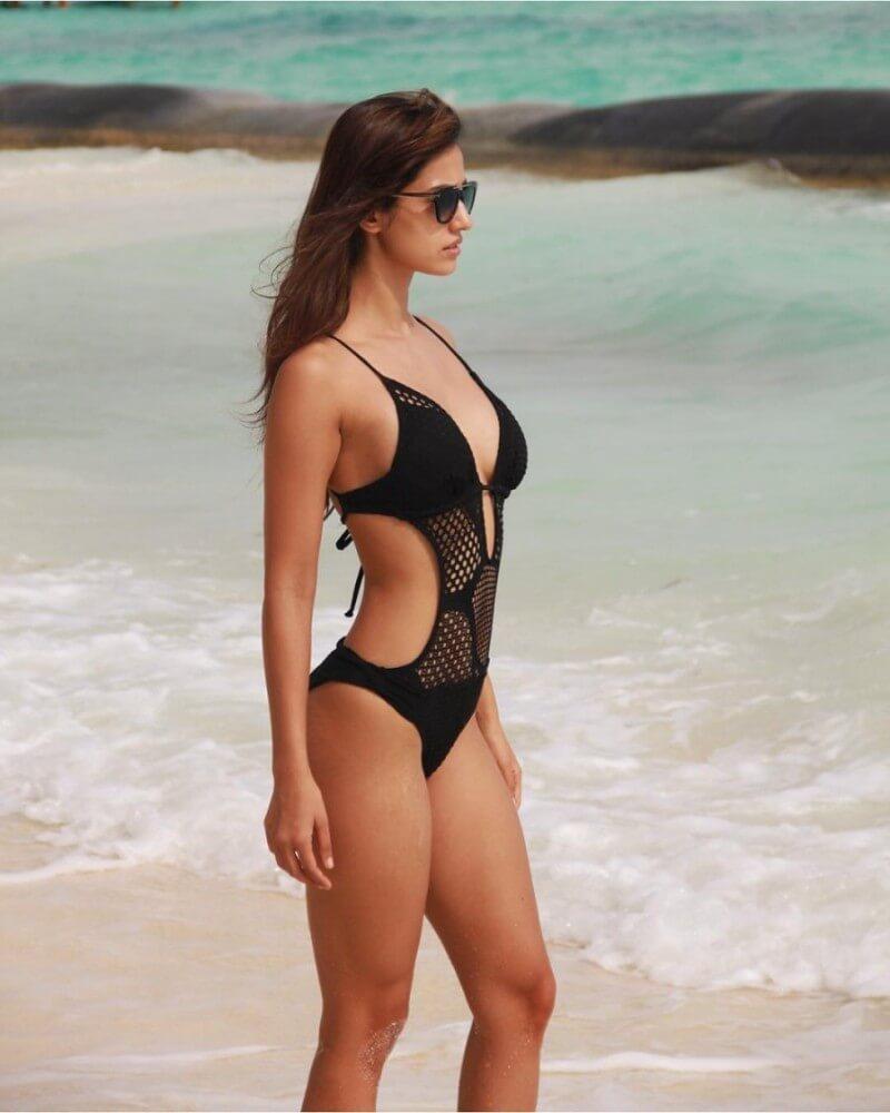Sexy Hot Bikini Swimwear Pictures Of Disha Patani
